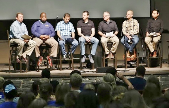 Evangelical Unity discussion at CIU.