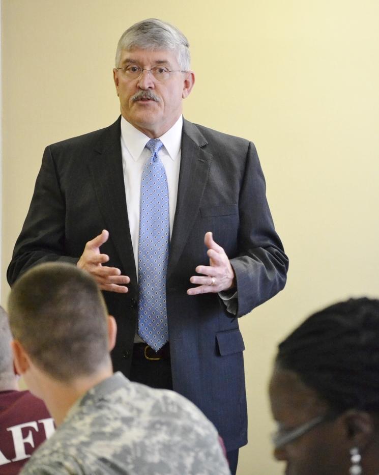 CIU Chaplaincy Professor Dr. Michael Langston honored by University of Louisiana at Lafayette