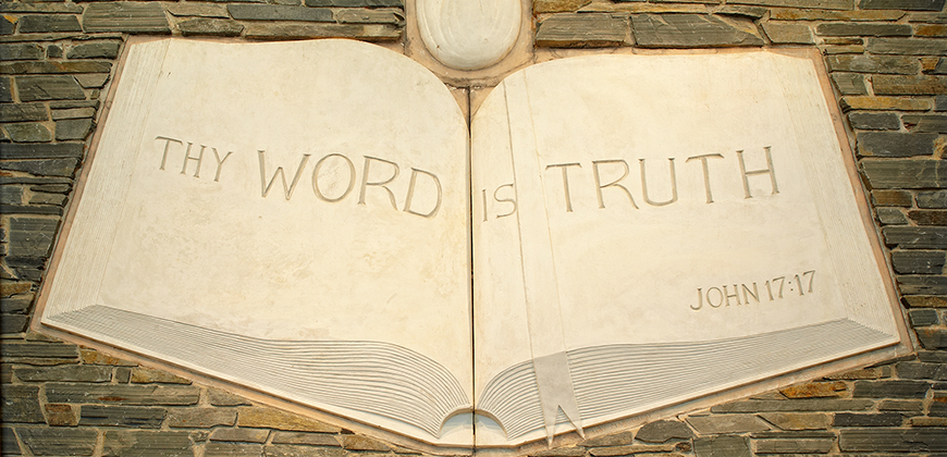 The word is truth.