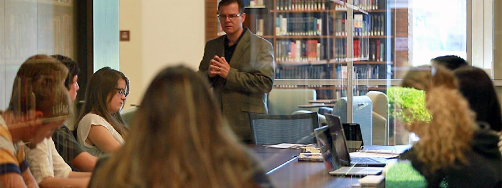 Ed Smither, CIU professor